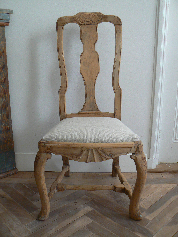 Swedish Rococo Chair